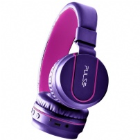 Fone De Ouvido Bluetooth Fun Series Rosa E Roxo - Pulse - PH217