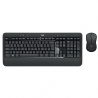 Teclado e Mouse Logitech Wireless Mk540 Advanced Multimídia, Abnt2,  Unifying, Cinza  - 920-008674 - 920-008674