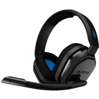 Headset Gamer Astro A10 - Preto/Azul (PS4/Xbox One/Nintendo Switch/PC) - 939-001838