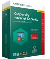 Anti Virus Kaspersky Internet Security 2017 Renovação - KL1941KBAFR-7