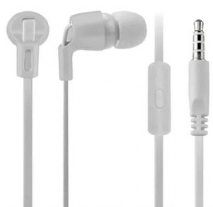 Fone de Ouvido Intra-auricular Com Microfone Smartogo Branco Multilaser Ph214