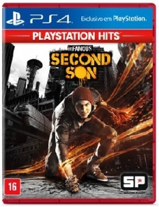 Jogo Infamous Second Son Hits - Playstation 4 - Sieb