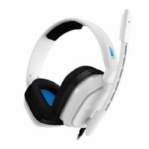 Headset Gamer Astro A10 - Branco/Azul (PS4/Xbox One/Nintendo Switch/Pc)